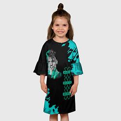 Платье клеш для девочки NILETTO цвета 3D — фото 2
