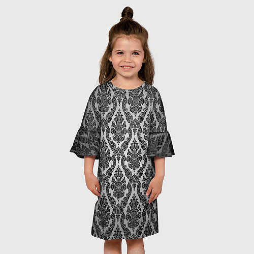 Детское платье Гламурный узор / 3D – фото 3
