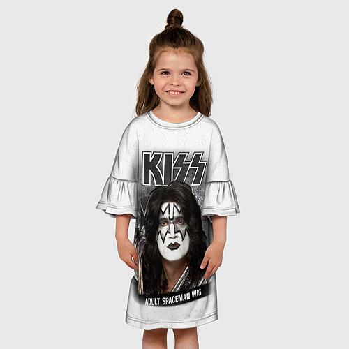 Детское платье KISS: Adult spaceman wig / 3D – фото 3
