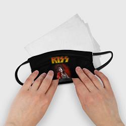 Маска для лица детская KISS: Paul Stanley цвета 3D — фото 2