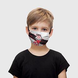 Маска для лица детская АлисА: Анархия цвета 3D — фото 1