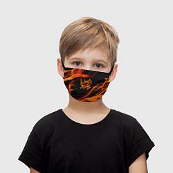 Маска для лица детская Цой жив цвета 3D — фото 1