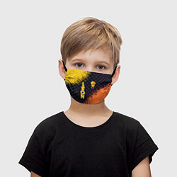 Маска для лица детская BRAWL STARS SALLY LEON - фото 1