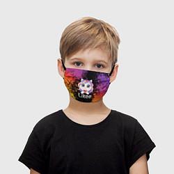 Детская защитная маска с принтом Likee LIKE Video, цвет: 3D, артикул: 10202259105919 — фото 1