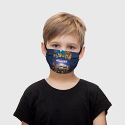 Маска для лица детская ROBLOX цвета 3D — фото 1