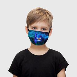 Маска для лица детская Sonik цвета 3D — фото 1