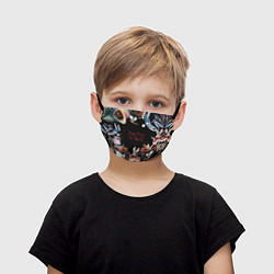 Маска для лица детская Pink Floyd: The Wall цвета 3D-принт — фото 1