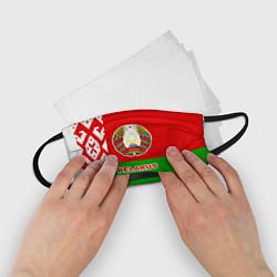 Маска для лица детская Belarus Patriot цвета 3D-принт — фото 2