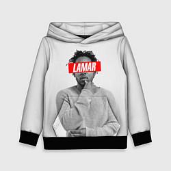 Толстовка-худи детская Lamar Supreme цвета 3D-черный — фото 1