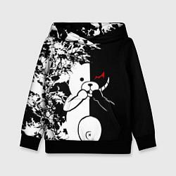 Толстовка-худи детская Monokuma цвета 3D-черный — фото 1