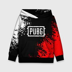 Толстовка-худи детская PUBG цвета 3D-черный — фото 1