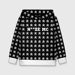 Толстовка-худи детская Noize MC цвета 3D-белый — фото 1