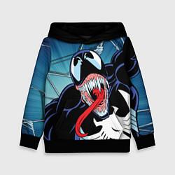 Толстовка-худи детская Venom цвета 3D-черный — фото 1