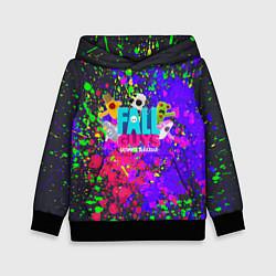 Толстовка-худи детская Fall Guys цвета 3D-черный — фото 1