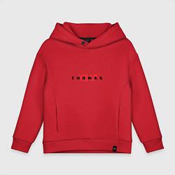 Толстовка оверсайз детская Thomas Mraz цвета красный — фото 1