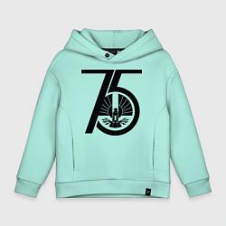 Толстовка оверсайз детская The Hunger Games 75 цвета мятный — фото 1