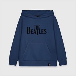 Толстовка детская хлопковая The Beatles цвета тёмно-синий — фото 1