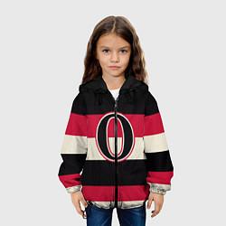Куртка с капюшоном детская Ottawa Senators O цвета 3D-черный — фото 2