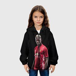 Куртка 3D с капюшоном для ребенка Погба: Манчестер Юнайтед - фото 2