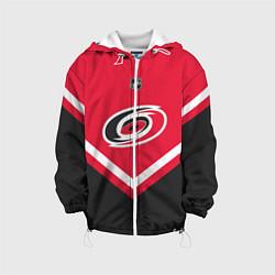 Куртка с капюшоном детская NHL: Carolina Hurricanes цвета 3D-белый — фото 1