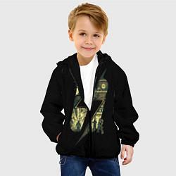 Детская 3D-куртка с капюшоном с принтом Fallout Never Changes, цвет: 3D-черный, артикул: 10112991805458 — фото 2