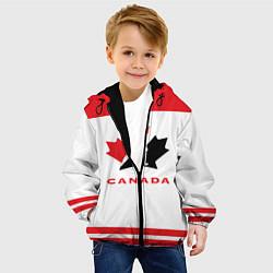 Куртка с капюшоном детская Canada Team цвета 3D-черный — фото 2