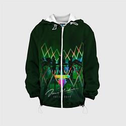 Детская 3D-куртка с капюшоном с принтом Tokio Hotel: Dream Machine, цвет: 3D-белый, артикул: 10129143505458 — фото 1