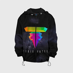 Куртка с капюшоном детская Tokio Hotel: New Symbol цвета 3D-черный — фото 1