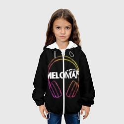 Куртка с капюшоном детская Meloman цвета 3D-белый — фото 2