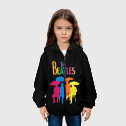 Куртка 3D с капюшоном для ребенка The Beatles: Colour Rain - фото 2