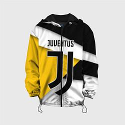 Куртка с капюшоном детская FC Juventus цвета 3D-черный — фото 1