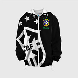 Детская 3D-куртка с капюшоном с принтом Brazil Team: Exclusive, цвет: 3D-белый, артикул: 10153704705458 — фото 1
