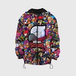 Куртка 3D с капюшоном для ребенка BRAWL STARS CROW - фото 1