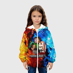 Куртка 3D с капюшоном для ребенка MINECRAFT - фото 2