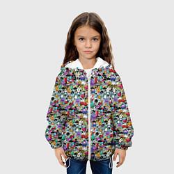 Куртка 3D с капюшоном для ребенка Stickerboom - фото 2