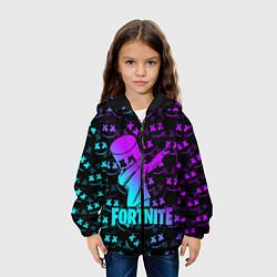Куртка 3D с капюшоном для ребенка FORTNITE X MARSHMELLO - фото 2