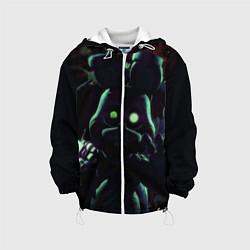 Детская 3D-куртка с капюшоном с принтом Five Nights At Freddy's, цвет: 3D-белый, артикул: 10211206505458 — фото 1