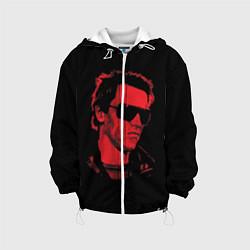 Куртка с капюшоном детская The Terminator 1984 цвета 3D-белый — фото 1