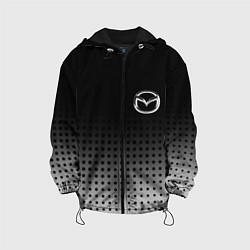 Детская 3D-куртка с капюшоном с принтом Mazda, цвет: 3D-черный, артикул: 10219625505458 — фото 1