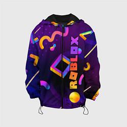 Куртка с капюшоном детская Roblox цвета 3D-черный — фото 1