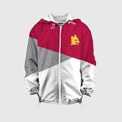 Куртка 3D с капюшоном для ребенка AS Roma Red Design 2122 - фото 1
