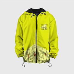 Куртка 3D с капюшоном для ребенка Острые козырьки - фото 1