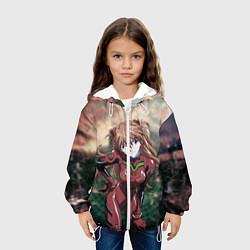 Куртка 3D с капюшоном для ребенка Аска Евангелион - фото 2