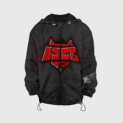 Куртка с капюшоном детская Hellraisers цвета 3D-черный — фото 1