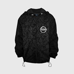 Куртка с капюшоном детская Nissan цвета 3D-черный — фото 1