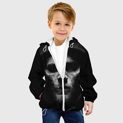Куртка с капюшоном детская Sons Of Anarchy цвета 3D-белый — фото 2