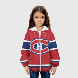 Куртка 3D с капюшоном для ребенка Montreal Canadiens - фото 2