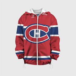 Куртка с капюшоном детская Montreal Canadiens цвета 3D-белый — фото 1