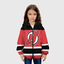 Куртка с капюшоном детская New Jersey Devils цвета 3D-черный — фото 2