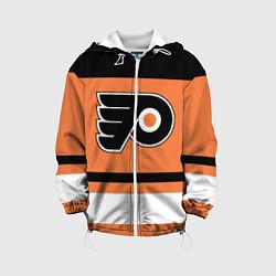 Куртка с капюшоном детская Philadelphia Flyers цвета 3D-белый — фото 1